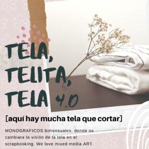 Taller Tela, telita, tela con Mima Molina