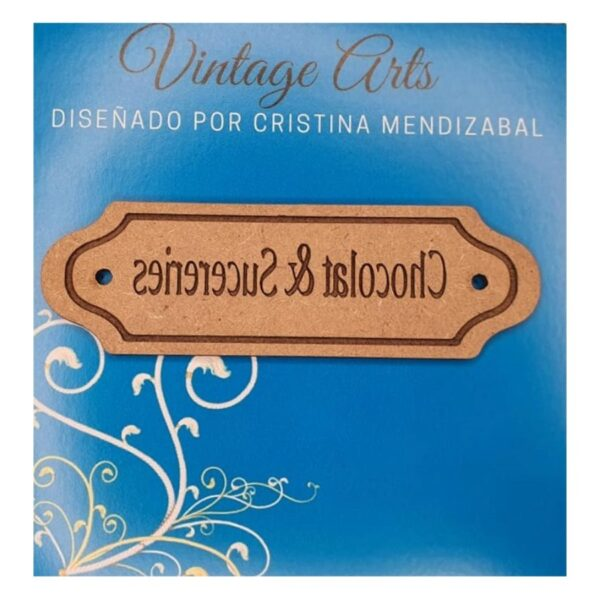 molde vintage Cristina Mendizabal Chocolate