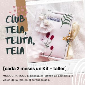 Taller on line club Tela, telita, tela